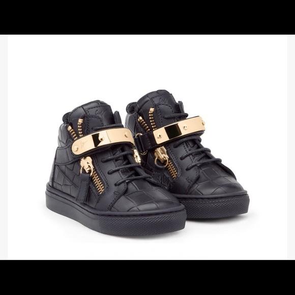 Stylish Giuseppe Zanotti Baby Sneakers